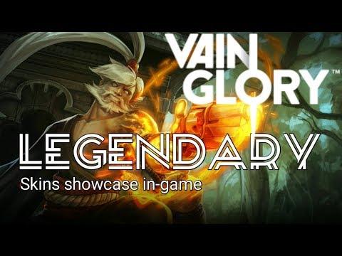 Vainglory Legendary Skins Showcase