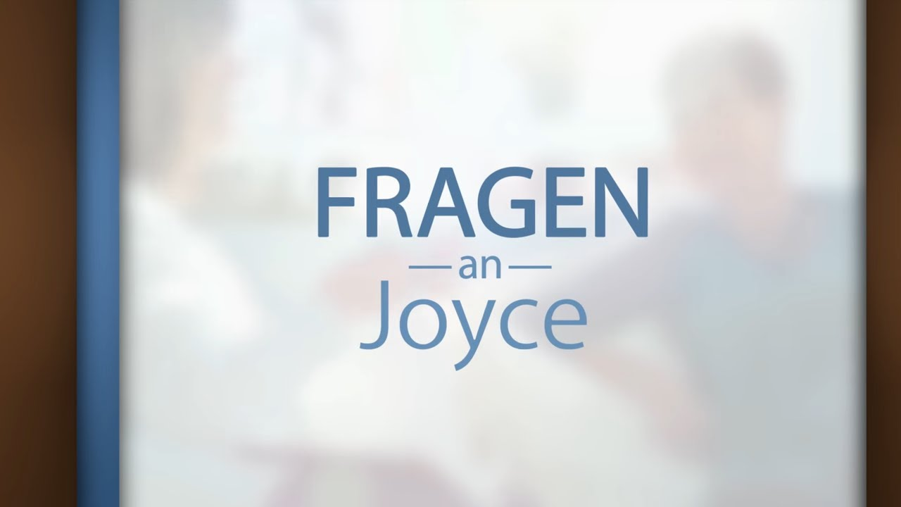 So können Sie Ihre Passivität überwinden – Fragen an Joyce