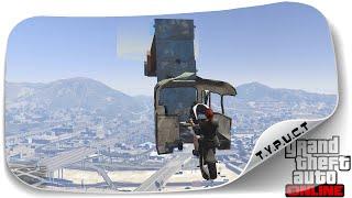 #TPCT - Застряли в автобусе на китайском мото паркуре в GTA 5 Online
