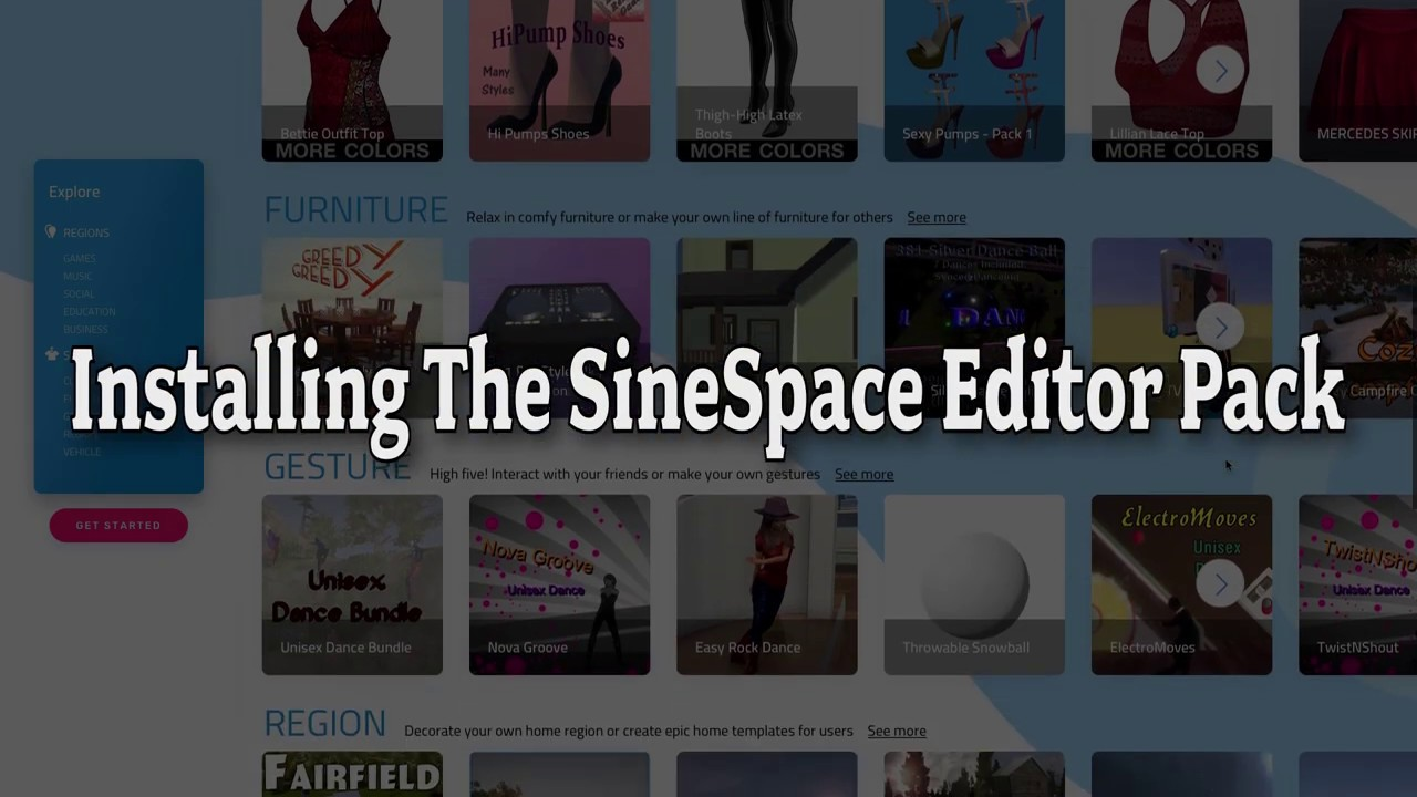 Sinespace Installation Videos To Help Content Creators Get Started