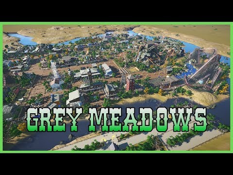 GREY MEADOWS: Western Mega Park! Park Spotlight 106 #PlanetCoaster