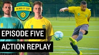 epic goal re creation challenge wembley cup 2016 5 feat f2 freestylers manny daniel cutting