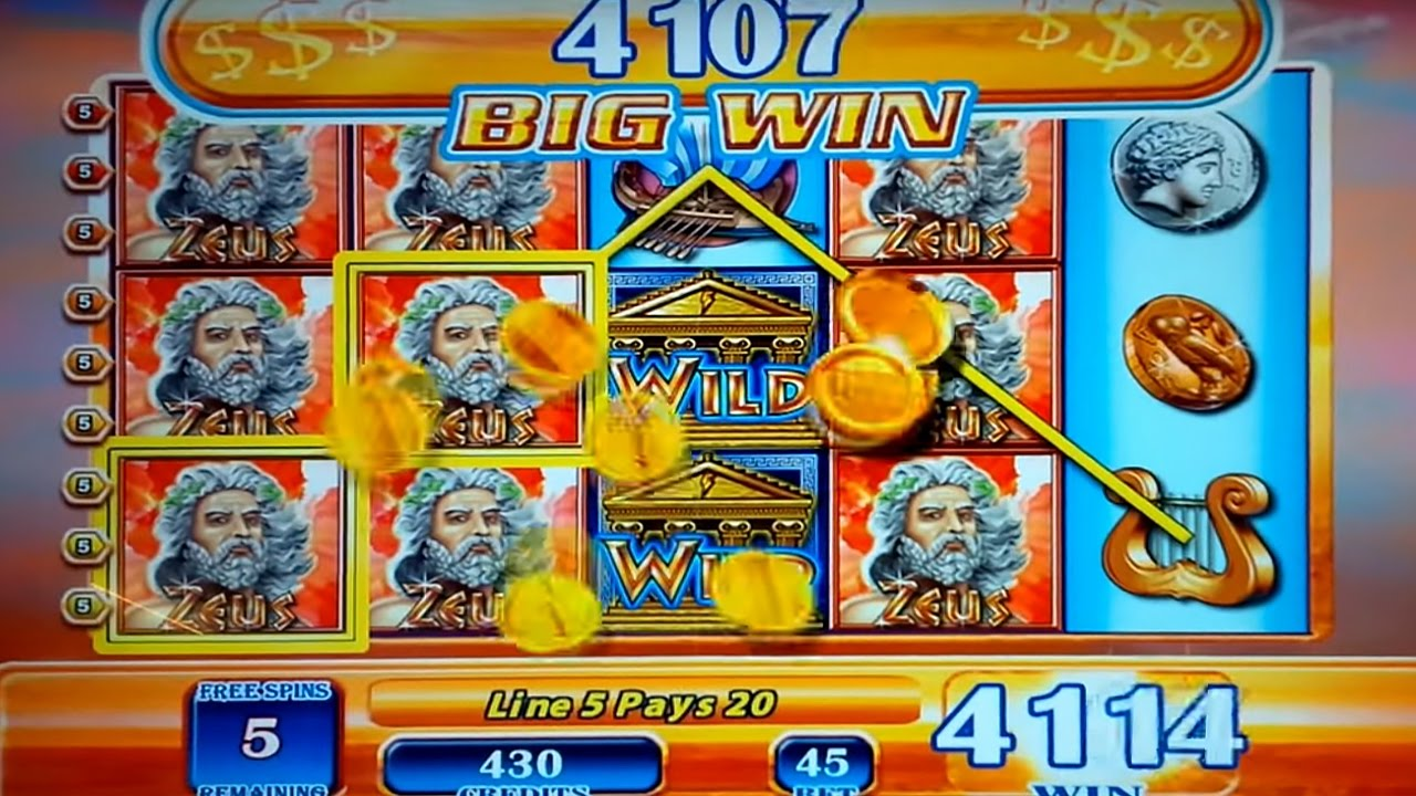 What are the chances of winning money on a slot machine