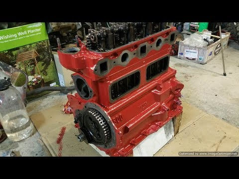 MGB B Series Engine - Re-sealing, Painting and Plating - Part 2