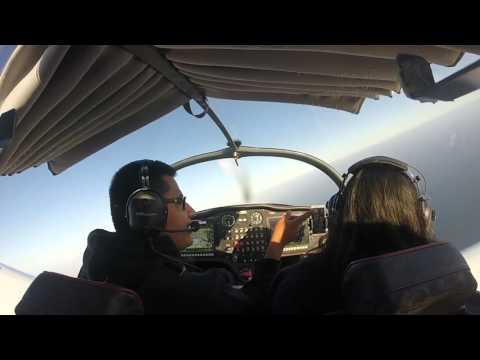 First Flight as a certified Sport Pilot