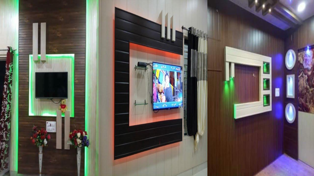 PVC Led TV wall panel Designs