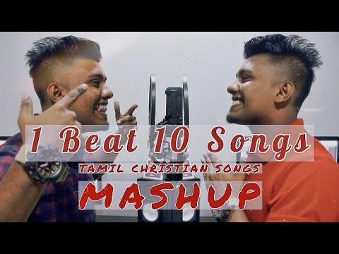 Tamil Christian Songs | Mashup | Nehemiah Roger | Part 1 | 1 beat 10 Songs