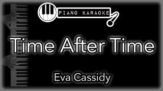 Time After Time - Eva Cassidy - Piano Karaoke Instrumental