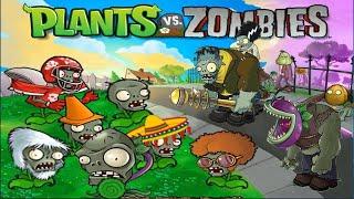 Plants vs Zombies Mod - 1 Threepeater vs Dr. Zomboss Fight !