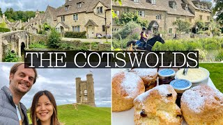 4 Days in THE COTSWOLDS, England | Bourton On the Water, Bibury, Broadway: Full Vlog