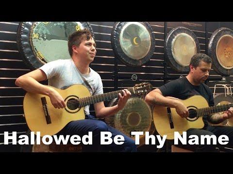 Hallowed Be Thy Name (Iron Maiden) Acoustic - Thomas Zwijsen & Ben Woods - Master Guitar Tour 2016
