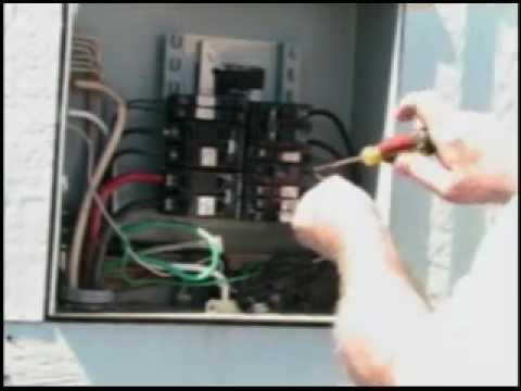 # 25 Installing a Hot Tub GFI Breaker  YouTube