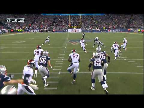 TJ Ward goes low on Gronk again