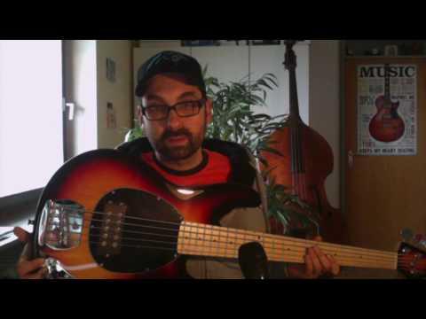 Harley Benton MB-5 SB Bass (Stingray Copy) Review Demo Test