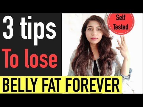 how-to-lose-belly-fat-without-workout-|3-steps-to-lose-belly-fat-without-exercise-|azra-khan-fitness