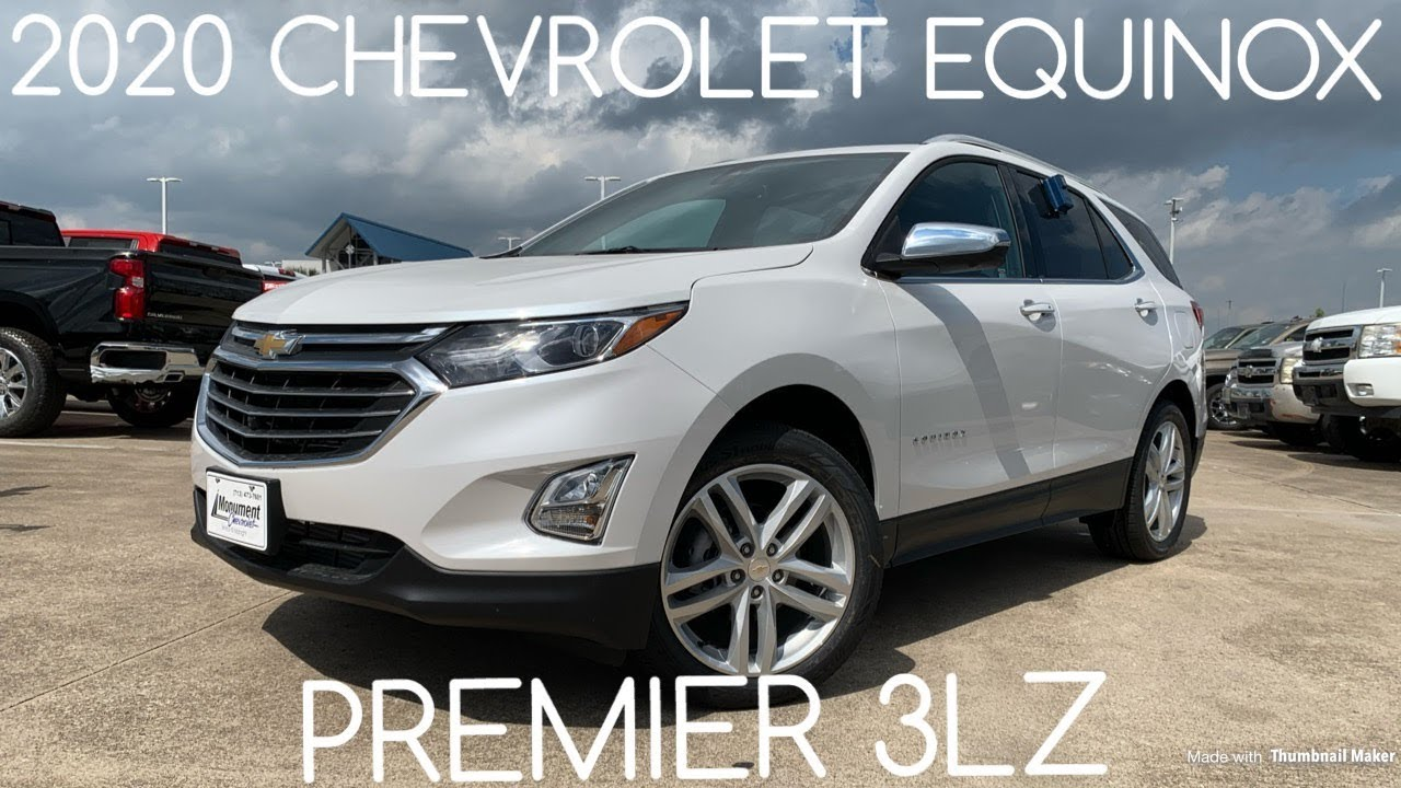 2020 Equinox Review.2020 Chevrolet Equinox Premier 2 0t Startup Review