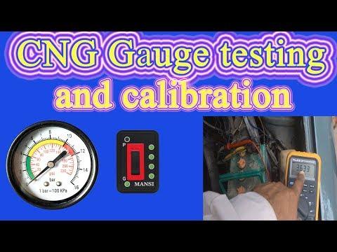 CNG kit maintenance part 4. Car CNG gas kit repair and maintenance. Gauge repair and testing.