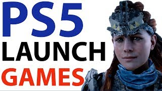 PS5 Launch Games | Sony FINALLY Talks About PlayStation 5 GAMES | NEW PS5 Games And News