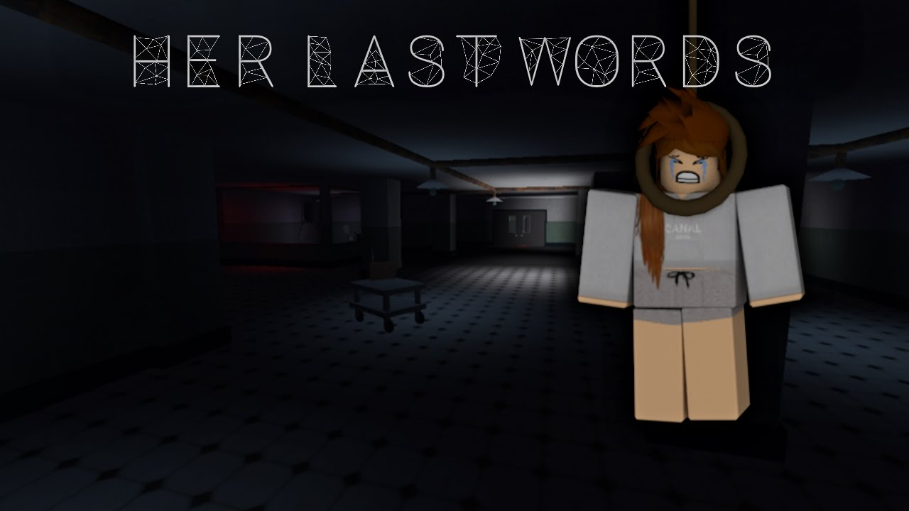 Her Last Words - Roblox Music Video Chords