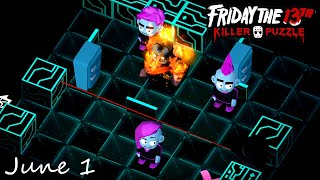Friday the 13th Killer Puzzle Daily Death June 1 2020 Walkthrough