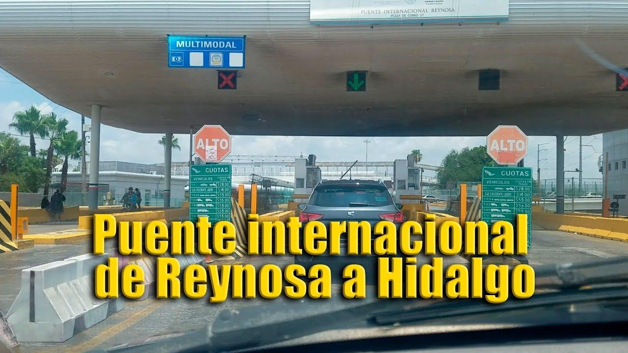 Puente internacional de Reynosa a Hidalgo