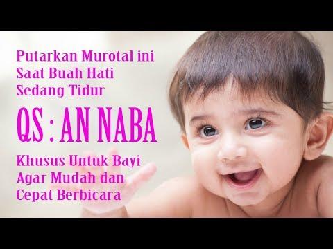 Surat An Naba Merangsang Kecerdasan Bayi