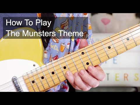 'The Munsters Theme' Halloween Guitar Lesson