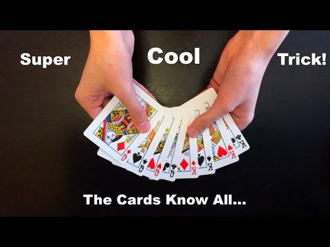 Think Of Card Amazing Easy Card Trick Revealed