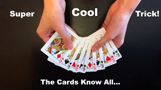 think of a card amazing easy card trick revealed