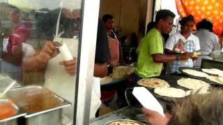 Mauritius Street Food   Dal Puri @ Port Louis