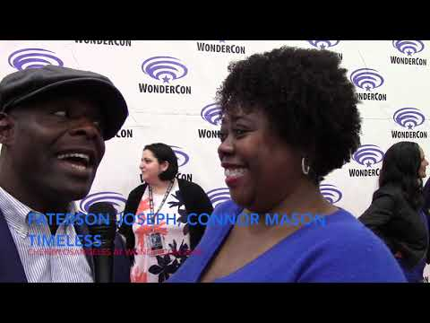 Interview with Paterson Joseph, CONNOR MASON on Timeless NBC