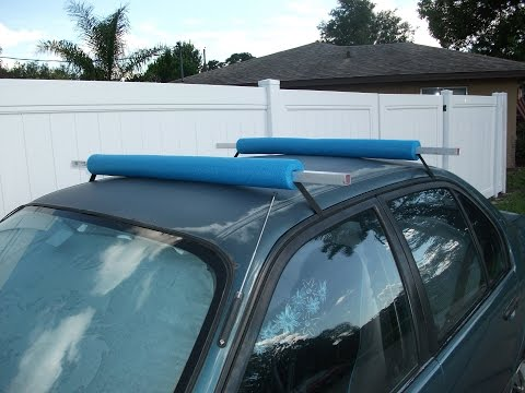 Simple DIY Roof Rack - Florida Fish Hunter