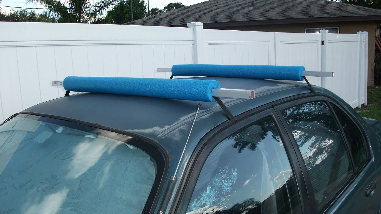 Homemade Kayak Roof Rack