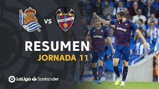 Resumen de Real Sociedad vs Levante UD (1-2)