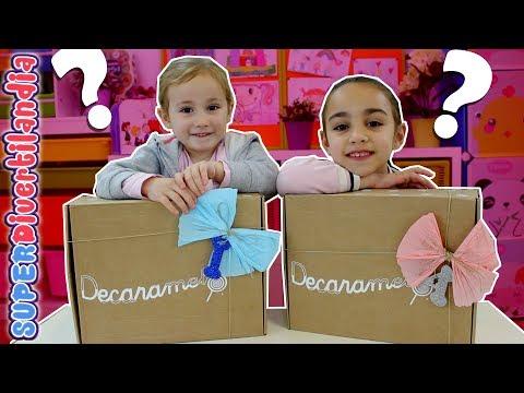 🎁 Cajas Sorpresa! 🎁 Con regalos para Andrea e Irene.
