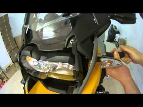 BMW R1200 GS LC Foco protector DS Bike