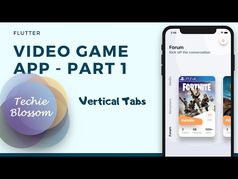 Video Game Message App   Flutter UI