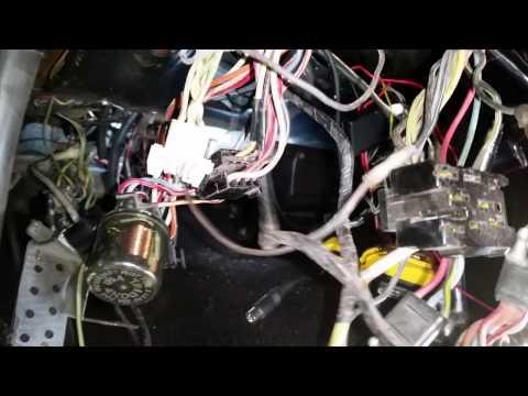 Wiring harness under dash Bill's 1968 HERTZ Shelby GT350 ... on