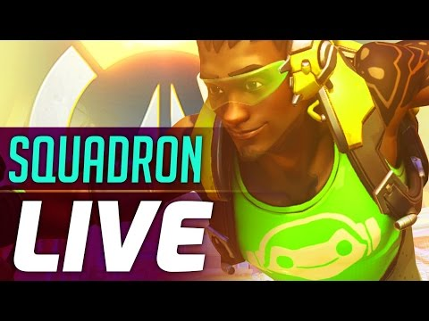 SQUADRON LIVE OVERWATCH   ft. Unit Lost   Overwatch Squadron Gameplay   6 Cam Multicam PoVs!