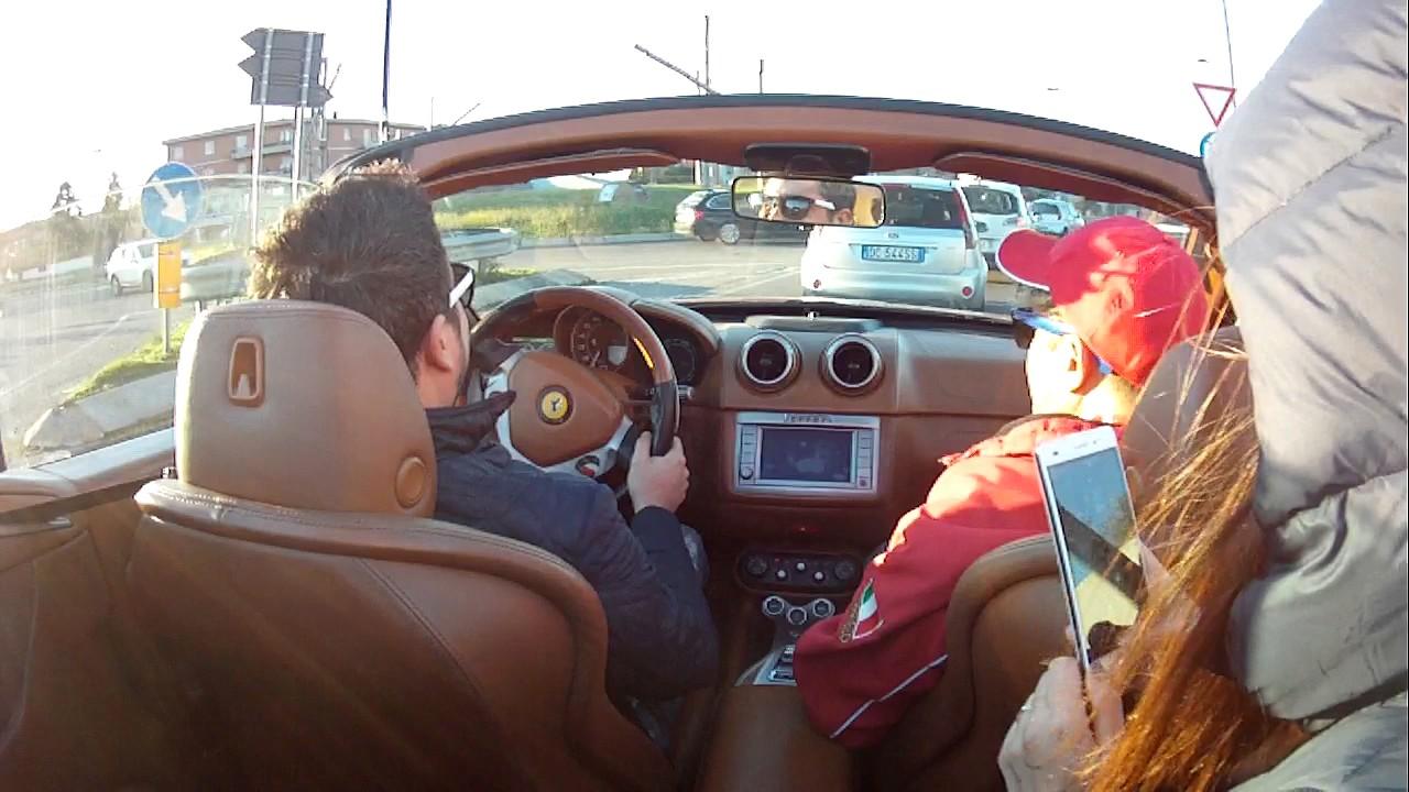 Test drive ferrari california + sound exhaust - YouTube