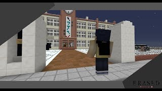 Minecraft   Anime Builds #1   Erased ( Boku dake ga inai machi ) School