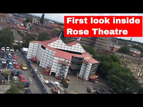 Inside York's Shakespeare Rose Theatre