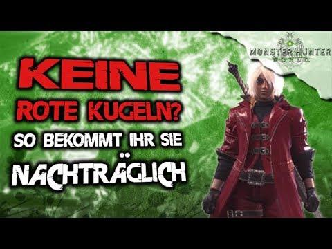 Monster Hunter World Deutsch - INFO Rote Kugeln Bekommen - Optische Dante Rüstung - MHW