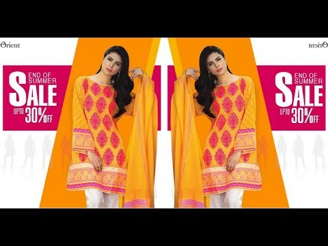 Orient Textiles End Of Summer Sale Upto 30% off Series I & 2