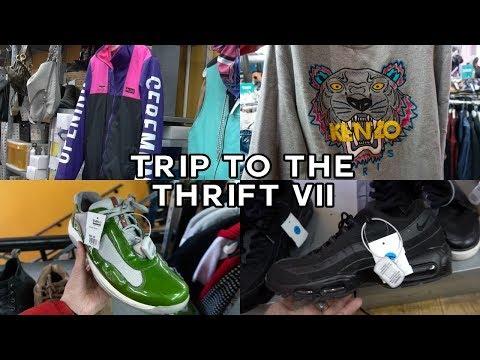 TRIP TO THE THRIFT #7 | PRADA, KENZO, OPENING CEREMONY