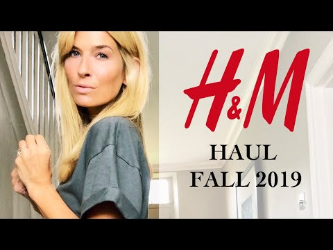 H&M HAUL AND TRY ON | AUTUMN (FALL) LOOKBOOK 2019