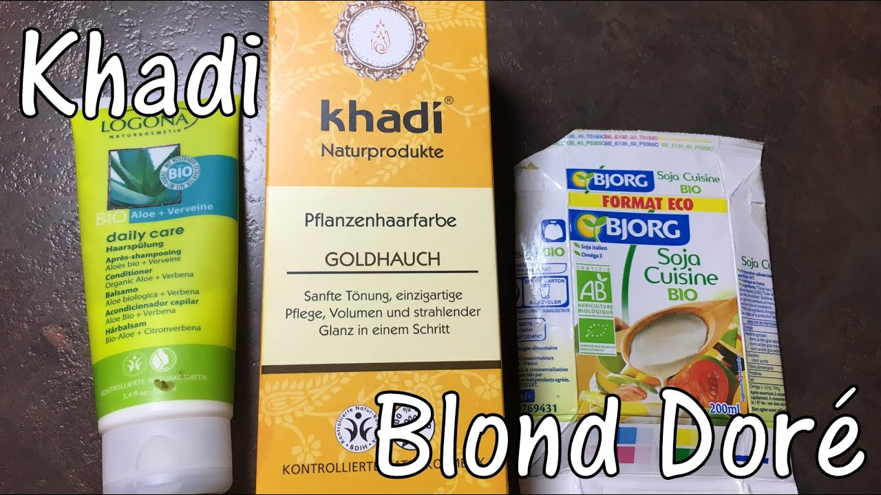 37 khadi blond dor - Khadi Coloration
