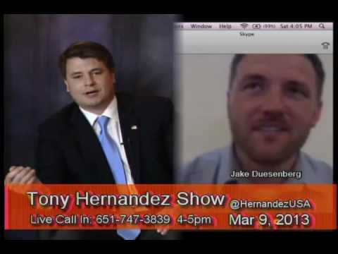 The Tony Hernandez Show 2013/03/09