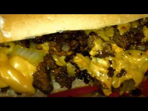 🧀🥖MUKBANG | NYC Chopped Cheese | Recipe | Hood Eats | Couples Edition