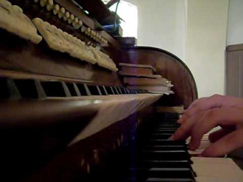 """""""W mogile ciemnej""""-utwór pogrzebowy, organy."""